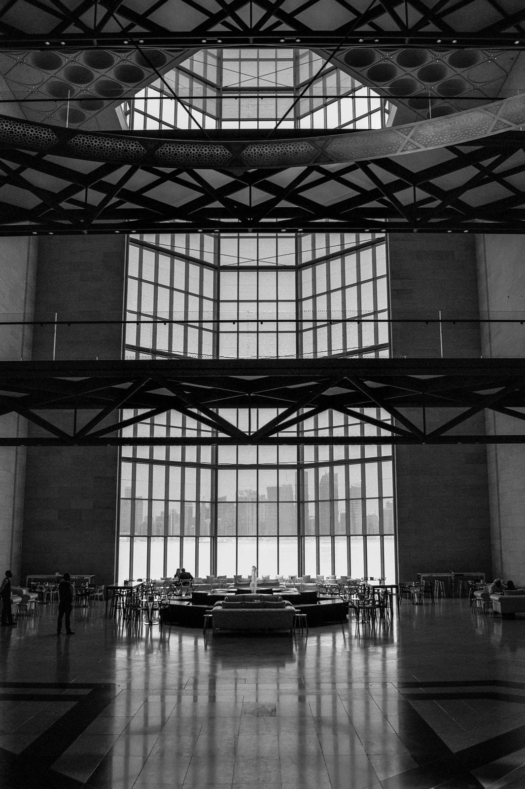 Café, Museum of Islamic Art, Doha