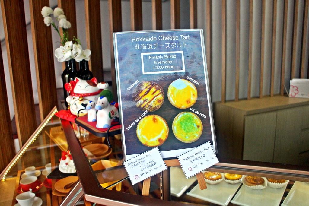 Matcha Johor Bahru: Hokkaido Cheese Tart