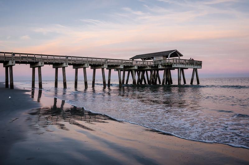 Tybee Island GA Pier