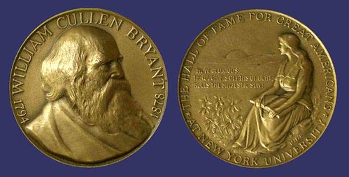 William-Cullen-Bryant-HOFOGA-Medal
