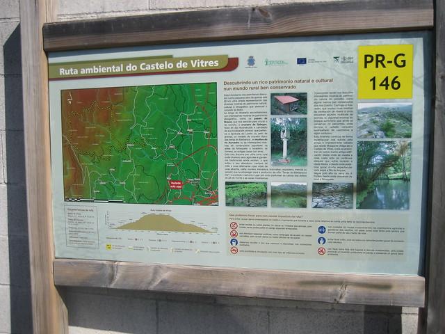 Panel Informativo PR-G 146 Ruta Ambiental Castelo de Vitres