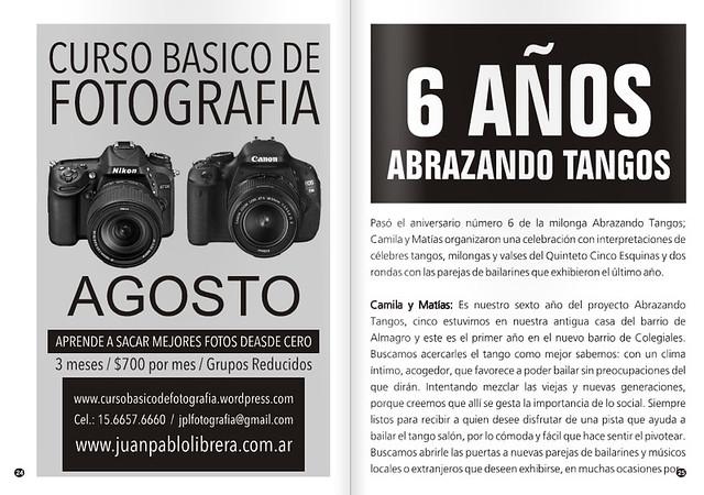Revista Punto Tango 117 Julio 2016 - Tango Magazine 2
