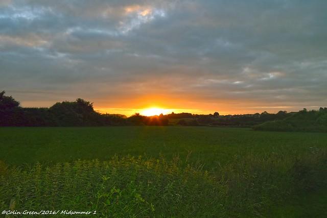 Mid Summer Sunrise.