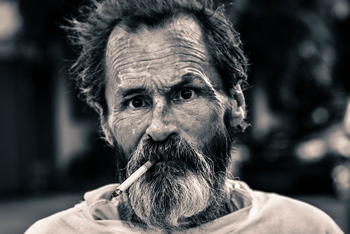 Homeless Man, Overtown Miami
