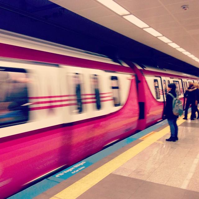 이스탄불에서의 마지막 날... 유럽에서 아시아로... #Travel #Istanbul #Turkey #Metro #Subway
