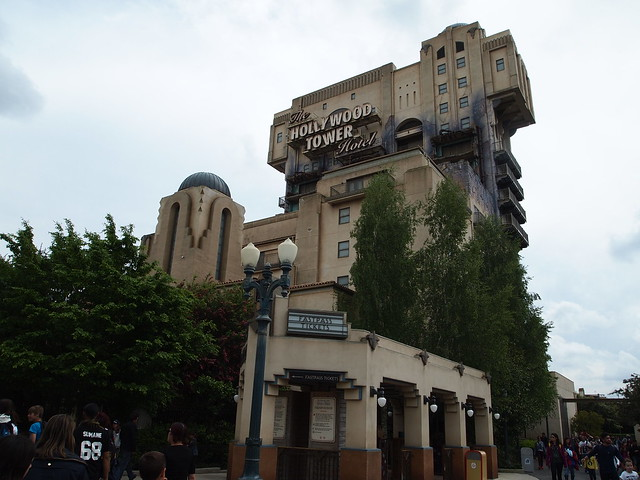P5261339 The Twilight Zone Tower of Terror ウォルト・ディズニー・スタジオ・パーク walt disney studios park paris パリ フランス