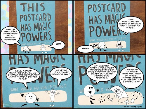 Susan's postcard comic