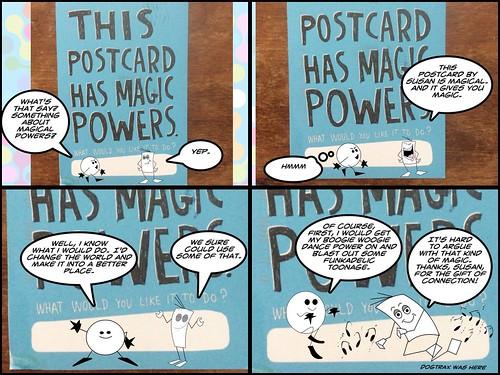 Susan's postcard comic