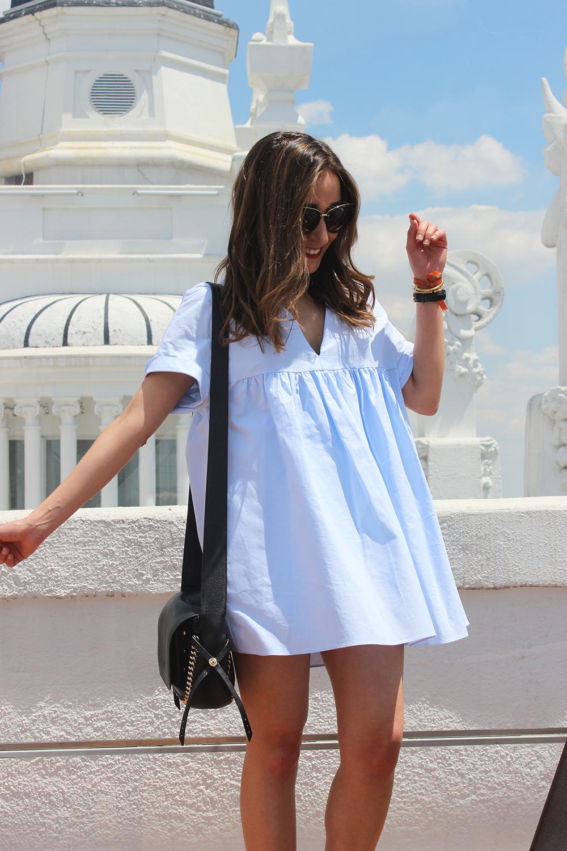 Light Blue Jumpsuit black sandals coach bag aristocrazy accesorries summer outfit06