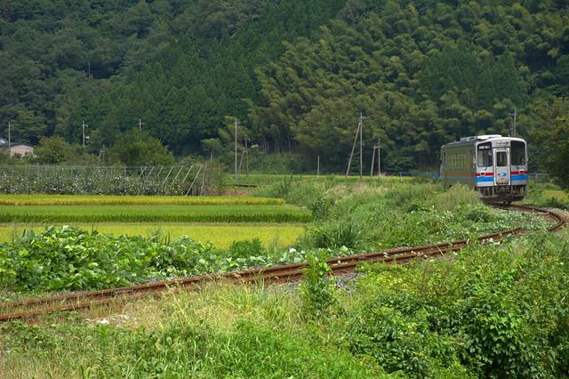 若桜鉄道(丹比ー若桜)WT3301