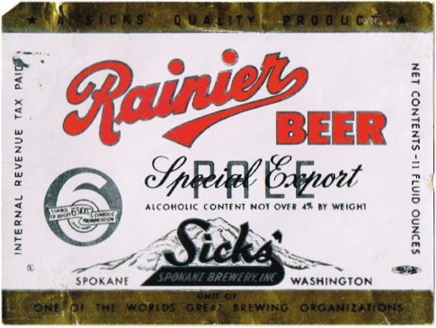 Rainier-Special-Export-Beer-Labels-Sicks-Spokane-Brewery-Inc