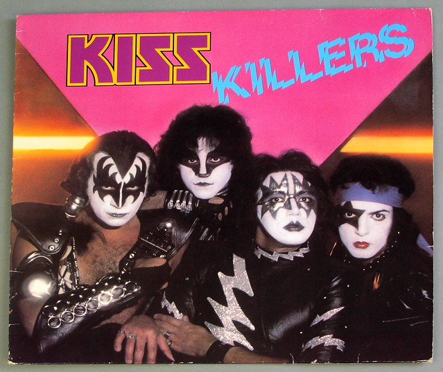 "KISS KILLERS 12"" LP VINYL"