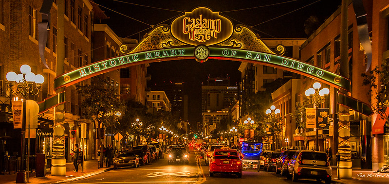 2014 - San Diego - Gaslamp Quarter - 5th Ave.