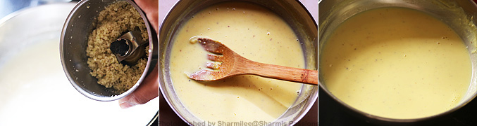 How to make Kesar Badam Kulfi Recipe - Step3