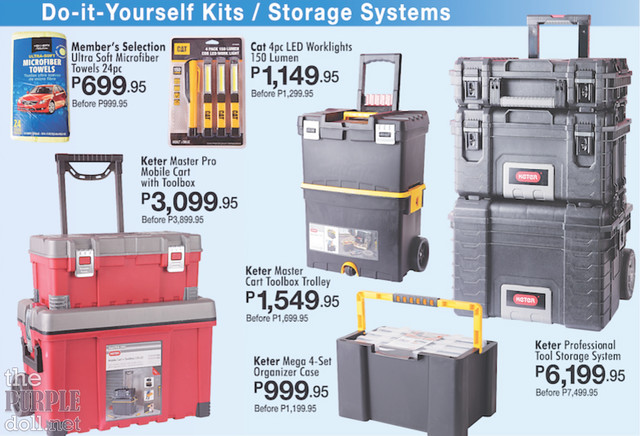 S&R DIY Kits and Storage Systems