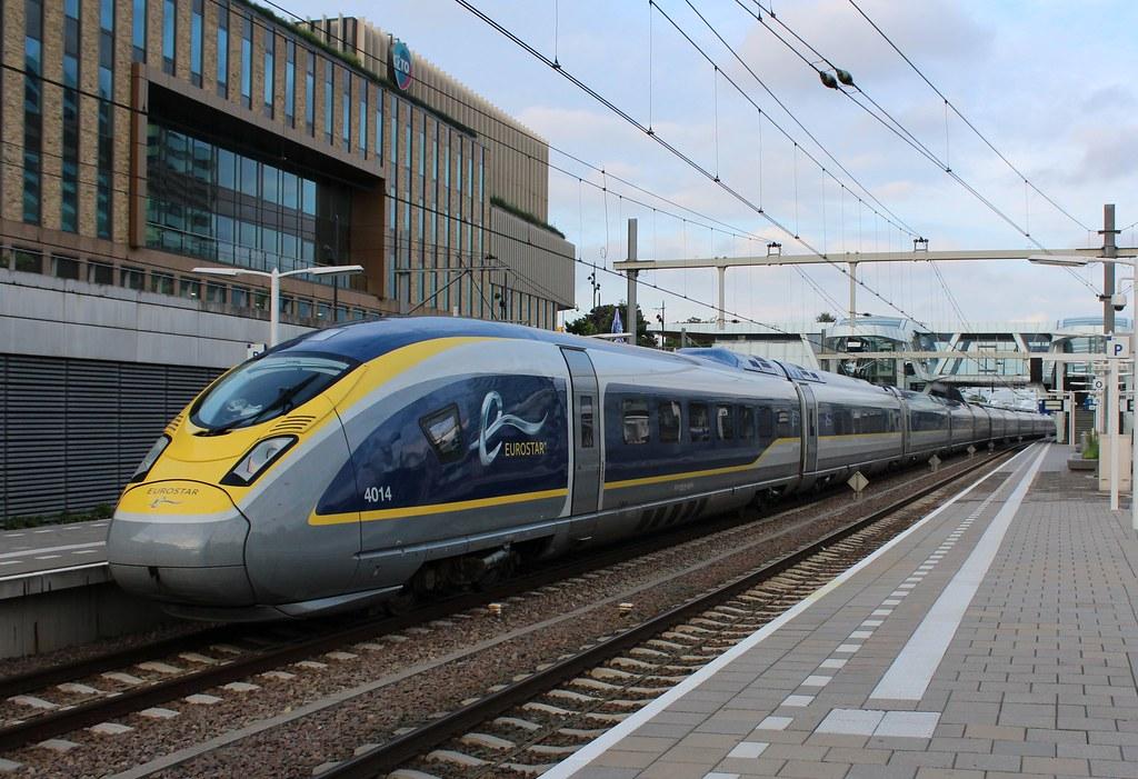Eurostar E320 4014/4013 te Arnhem CS