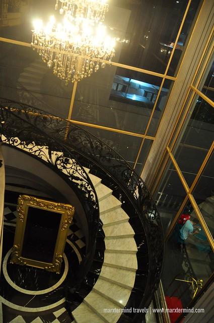 Staircase at Park View Hotel Bandung