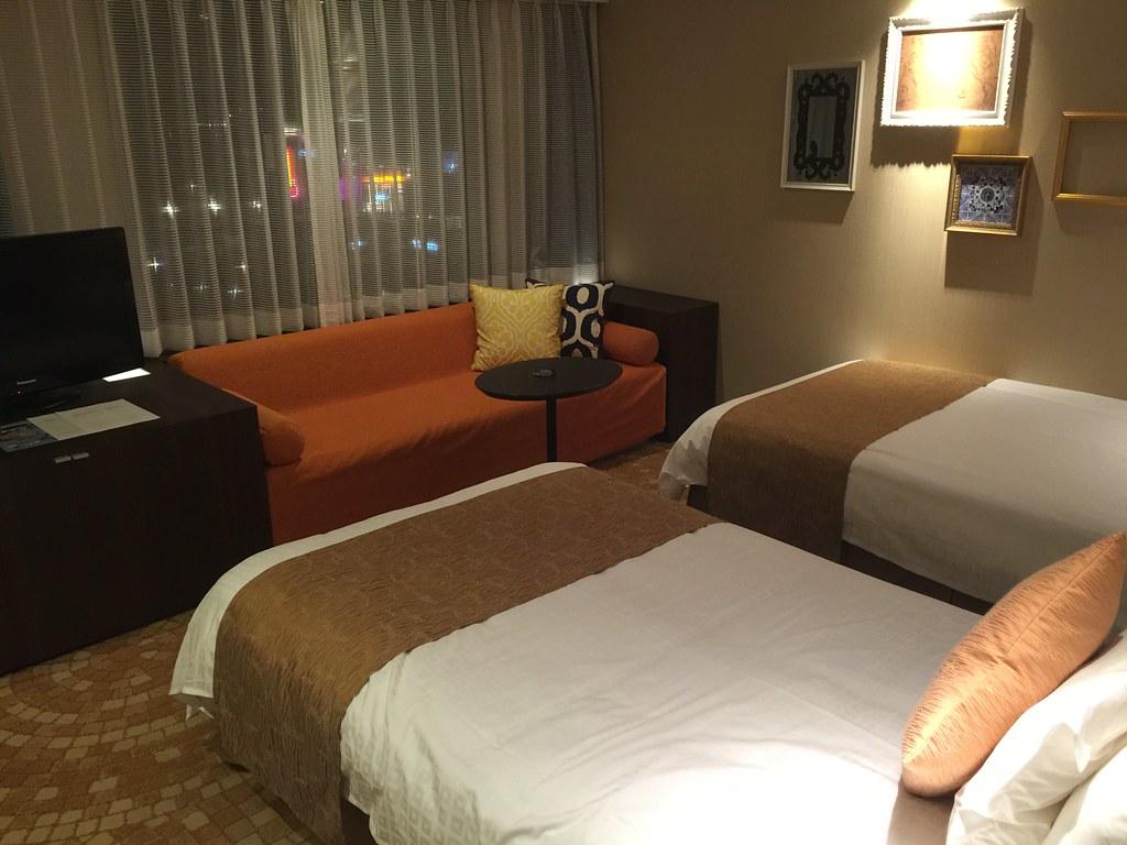 Hotel room details
