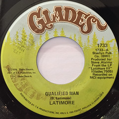 LATIMORE:QUALIFIED MAN(LABEL SIDE-A)