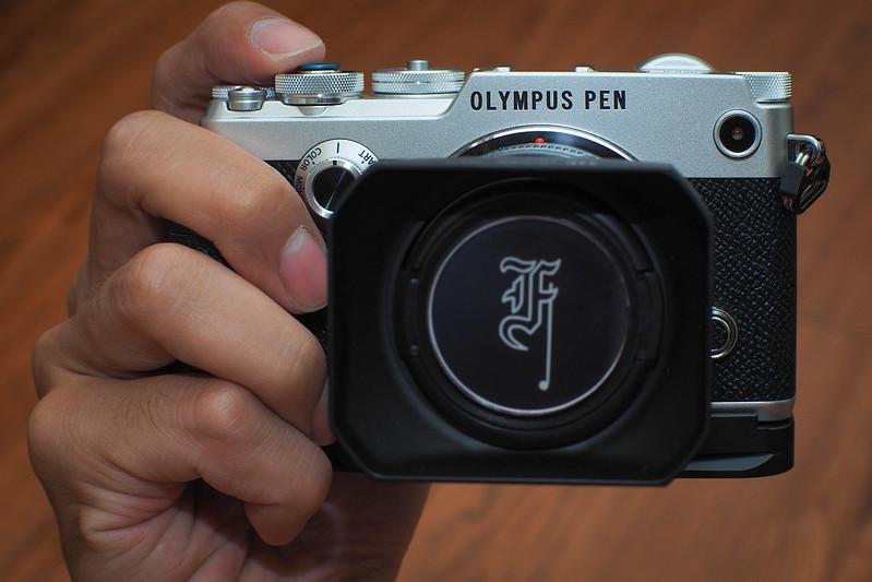 真皮 金屬手把 Grip|PEN-F Olympus