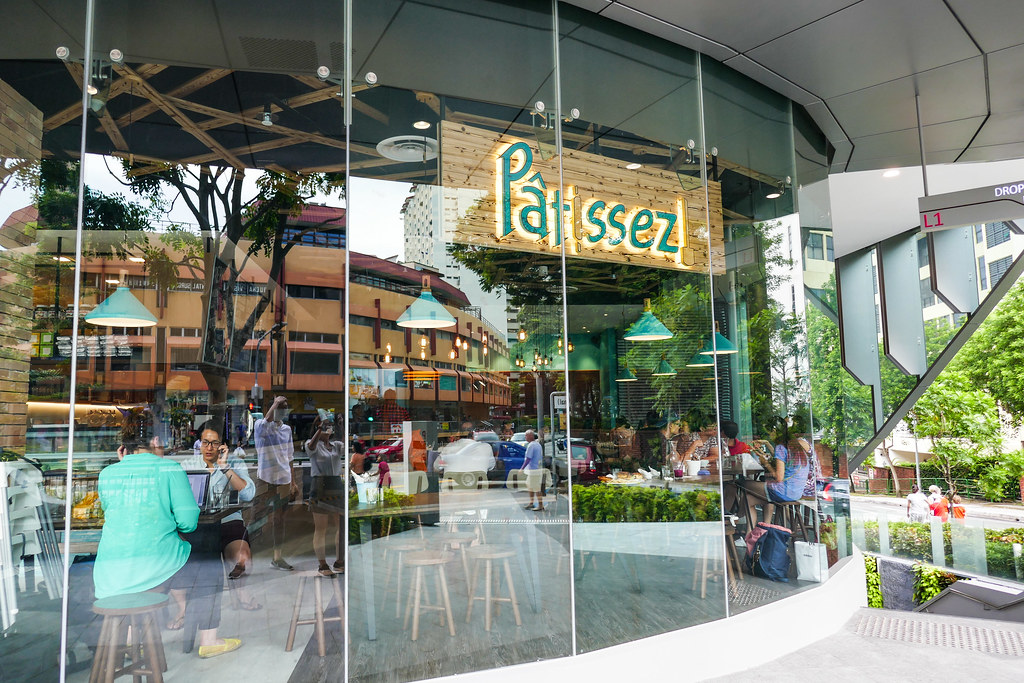 Patissez Store front in Singapore