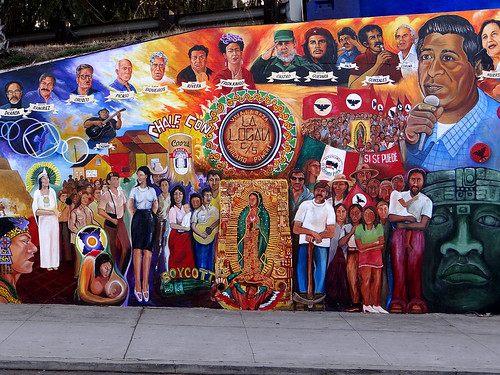 Chicano park mural 02 flickr photo sharing for Mural history