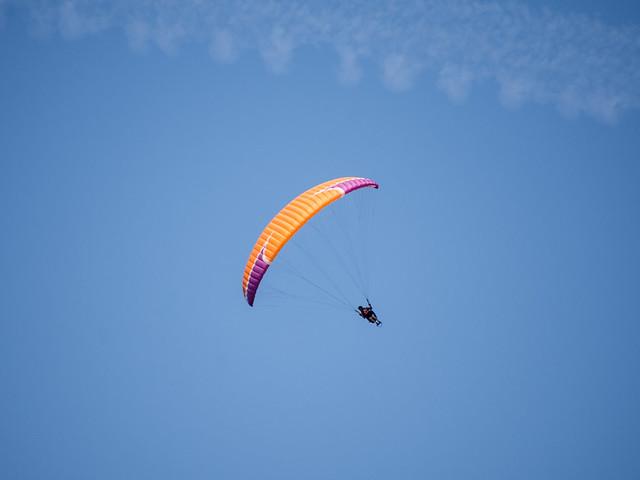 Steven flying