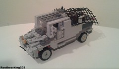 Ford F-850 Tactical Cargo Carrier by Rootbeerking202