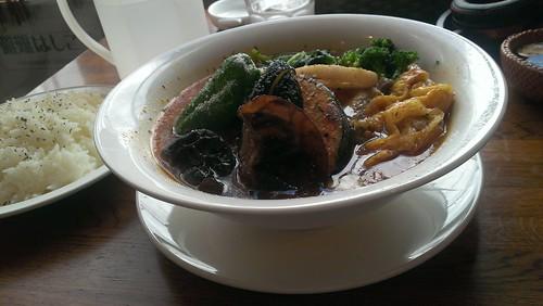 蝦夷夢 チキン野菜