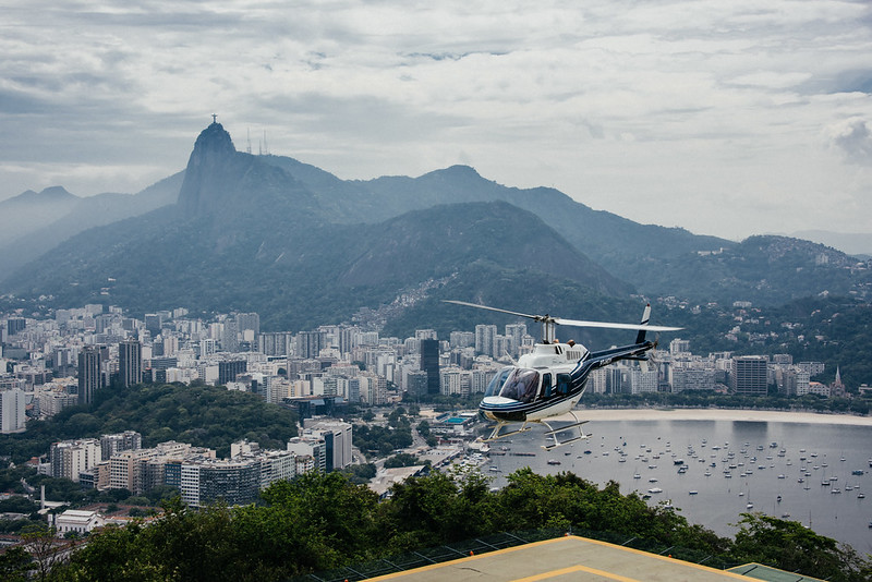 Heli Ride Over Rio