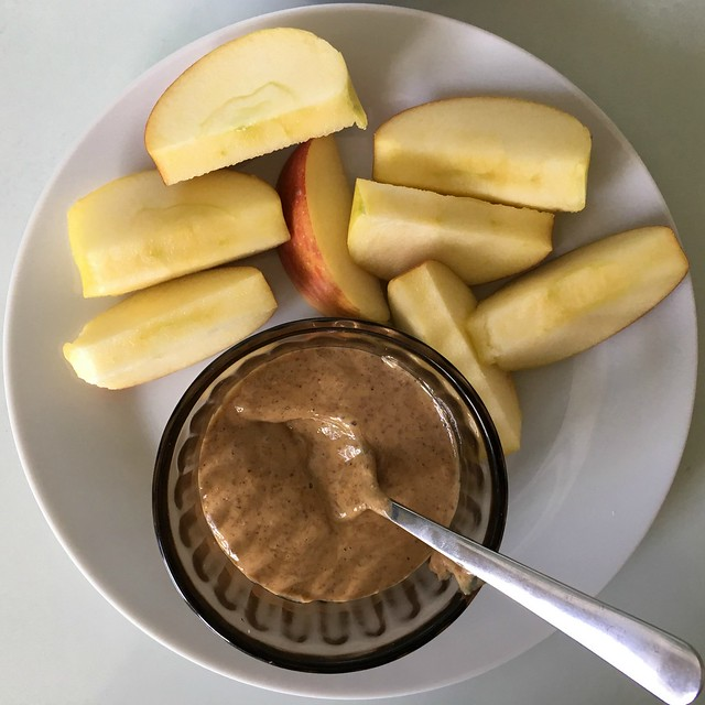 apple & nut butter