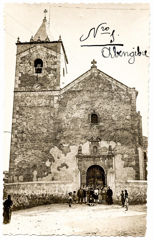 Iglesia Parroquial de San Miguel Arcángel, en Abengibre. 1930