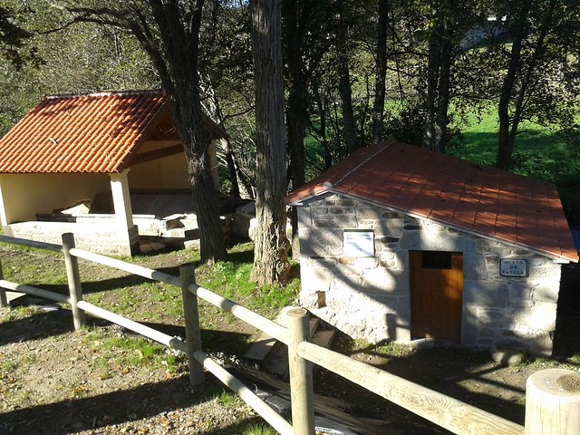 Muíño de Varela en escuadro en Silleda