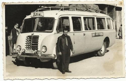 primer autocar Sr. Camps