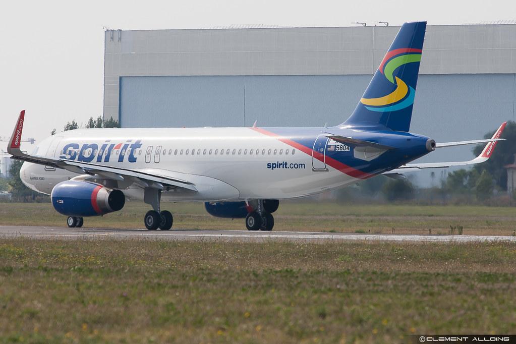 Spirit Airlines Airbus A320 Spirit Airlines Airbus
