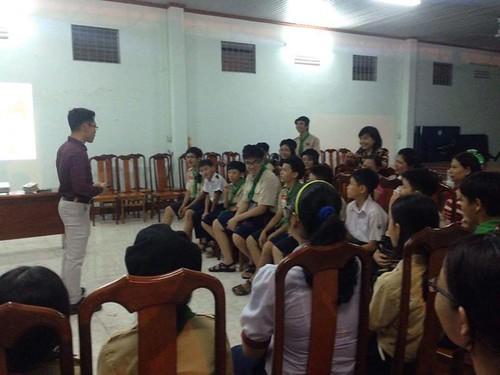 A seminar in Ba-Ria and Binh Duong