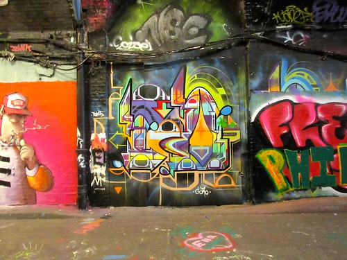 Leake St Graffiti Tunnel