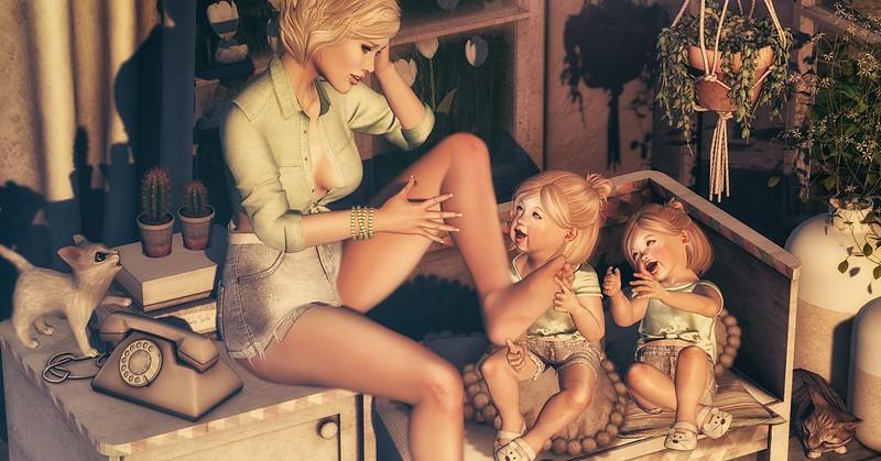 Amelie et les petites: Tickle