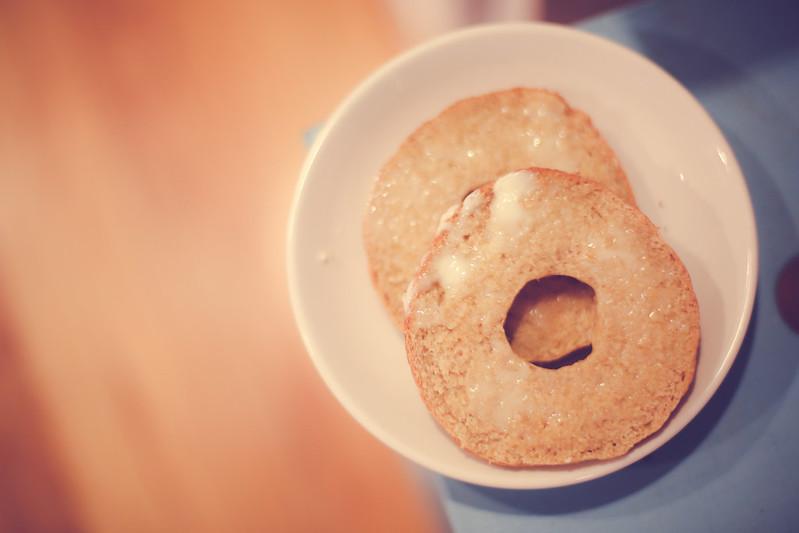 Simple to follow whole grain bagel recipe