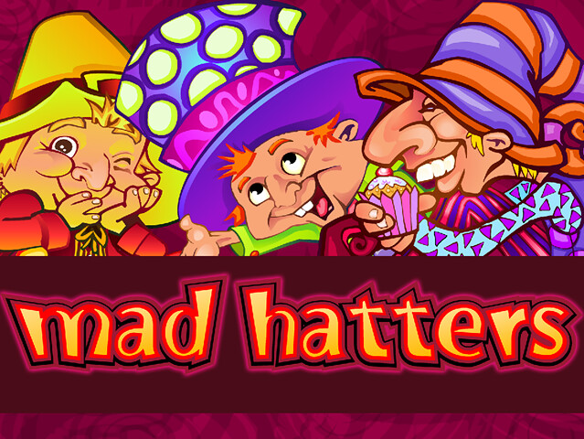 Mad Hatters Free Slot by Microgaming
