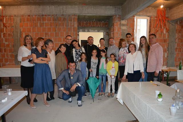 Prva misa p. Davora u Prozorju, 19.6.2016.