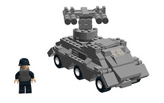 AG-4 Anti-Tank Missile Carrier by cr1235