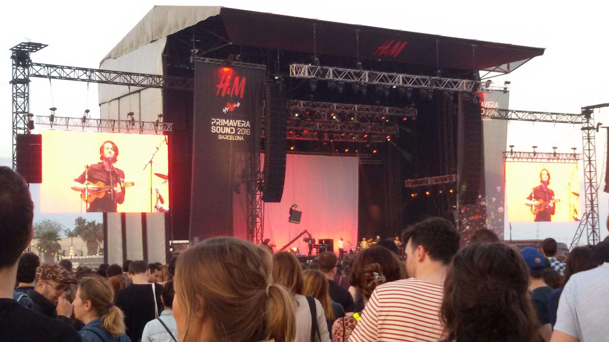 Beirut,  Primavera Sound, Barcelona, 3 junio 2016