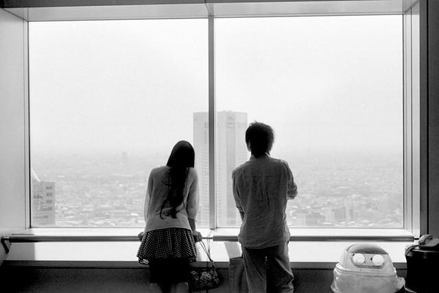 二人の見る風景