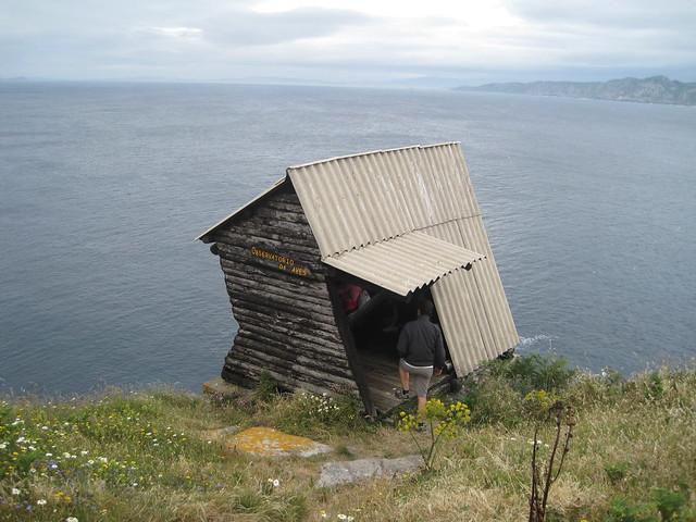 Observatorio de Aves en las islas Cíes