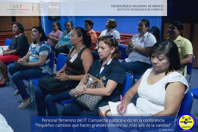 """Conferencia """"Pequeños cambios que hacen grandes diferencias"""". Junio 27, 2016"""