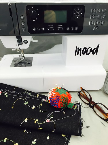 Mood U NYC sewing class