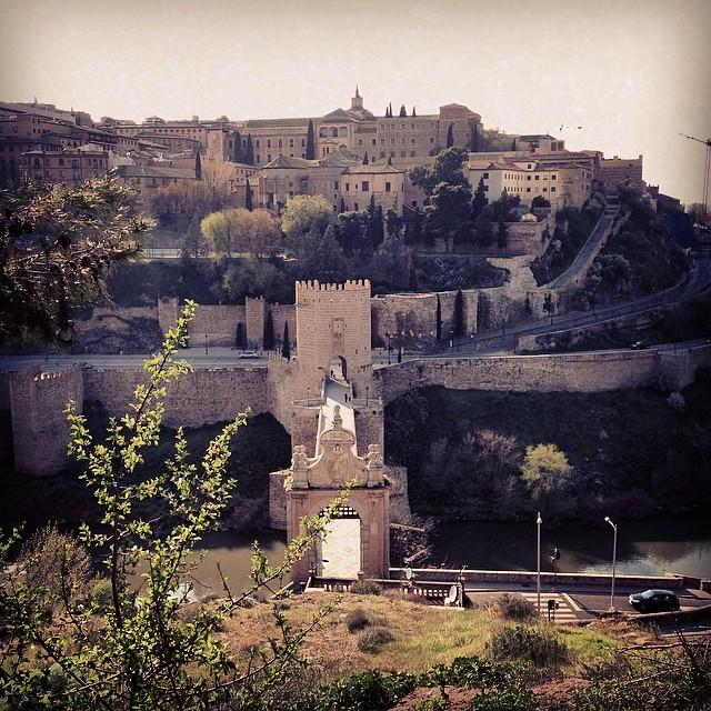 #Toledo desde el castillo de San Servando
