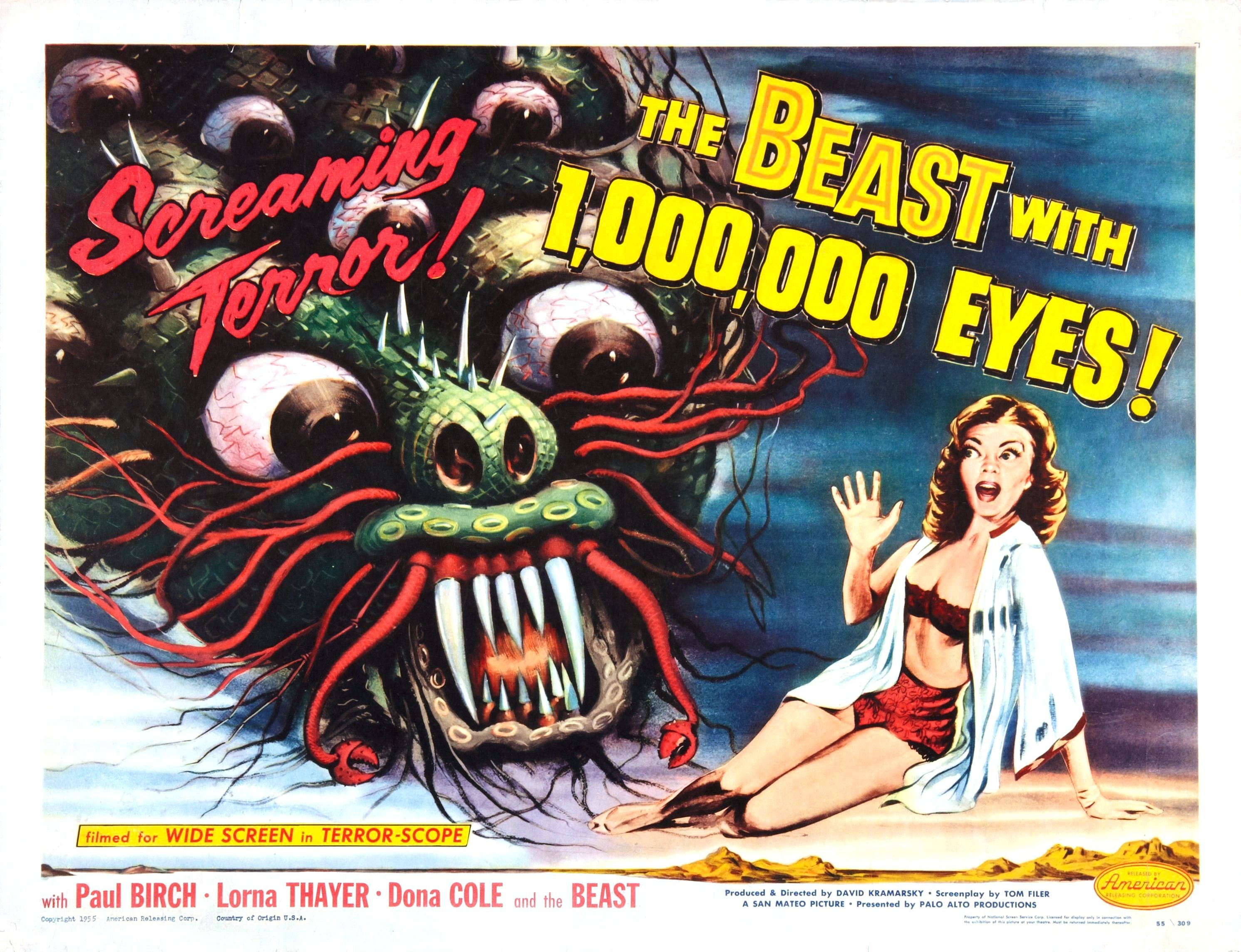 The Beast with 1,000,000 Eyes (1955)