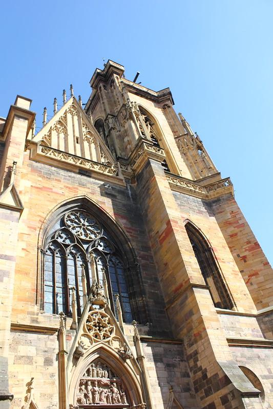 La Cathédrale, Colmar, Alsace, France